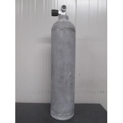 Bombola Alluminio LT 7,0 MES - Rubinetto con USCITA M26x2