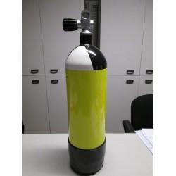 Monobombola litri 5,0 con rubinetto monoattacco (destro o sinistro) Scubatec