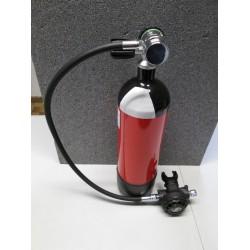 -OFFERTA- Monobombola litri 3,0 con rubinetto monoattacco completo di fondello ed erogatore F10. IDEALE PER KIT DA BARCA