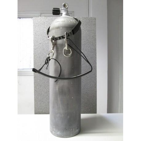 Bombola Alluminio S80 Litri 11,1 MES con imbraco