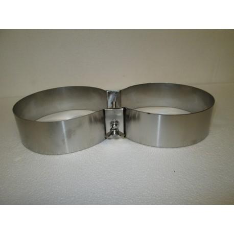 Fascioni in acciaio inox 316 per bibo 10+10/12+12