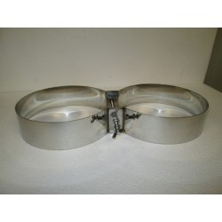 Fascioni in acciaio inox 316 per bibo 15+15