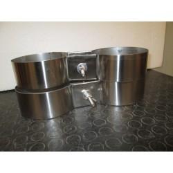 Fascioni Wide in acciaio inox 316 per bibo 7+7/8,5+8,5